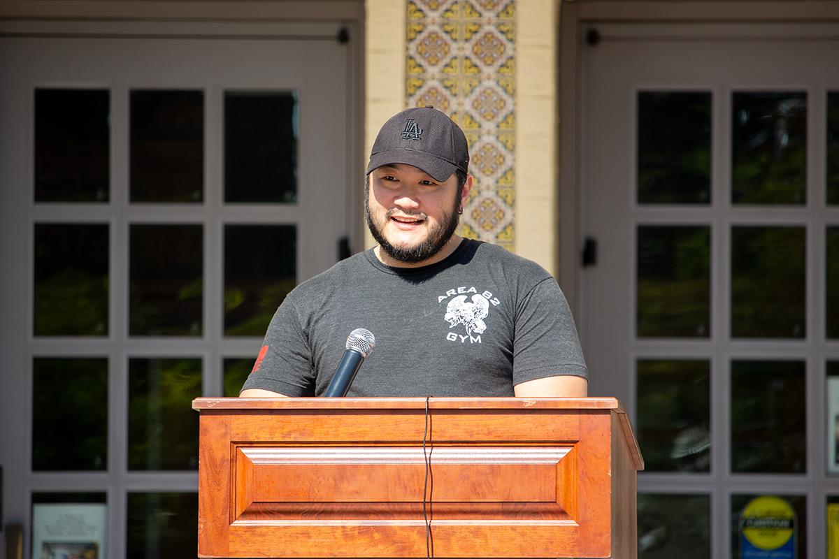 Student Veteran Speaker