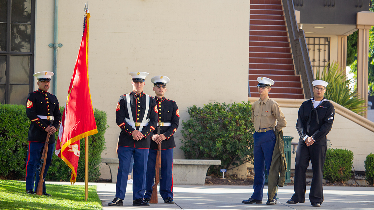 USMC Color Guard Vets Week
