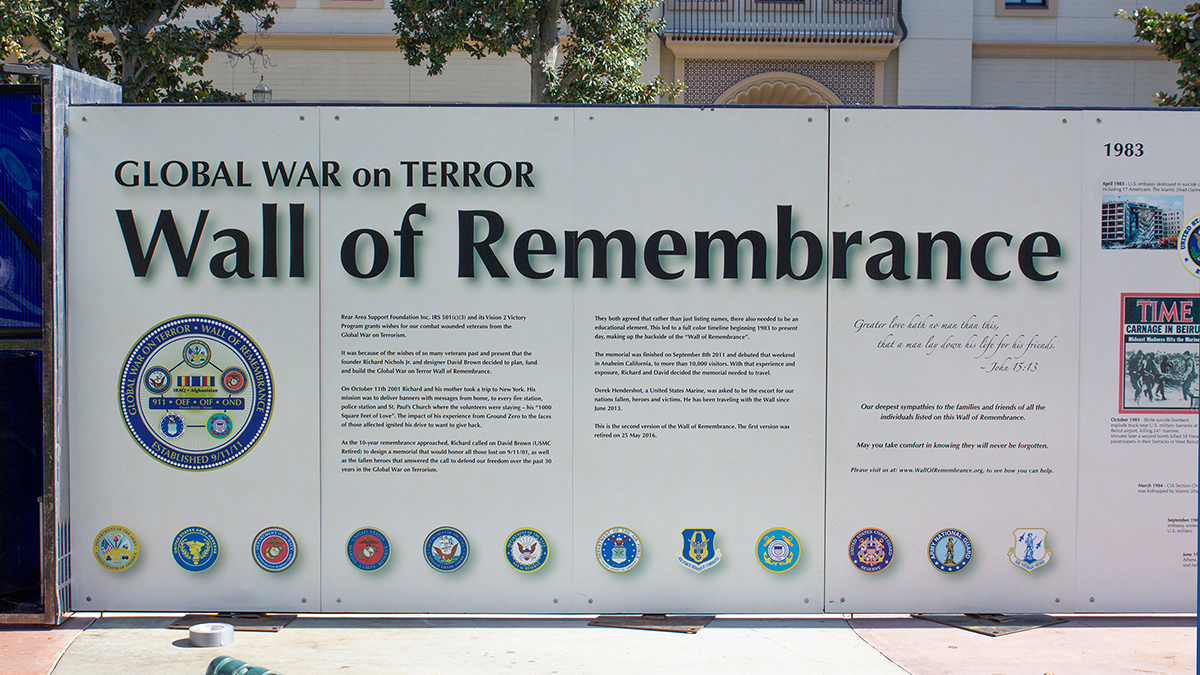 Wall of Remembrence